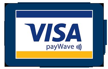 Slika logotipa vise ispod koga piše pay wave